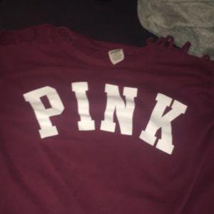 Pink victoria secret shirt!